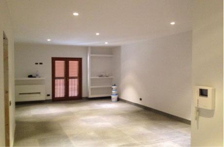 Ristrutturazione casa appartamento bagno cucina a roma impresa ristrutturazioni casa - Pitturare porte interne ...