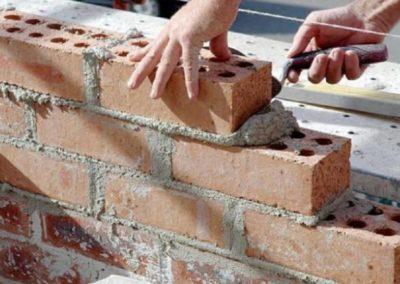 costruzione tramezzi divisori in forati roma