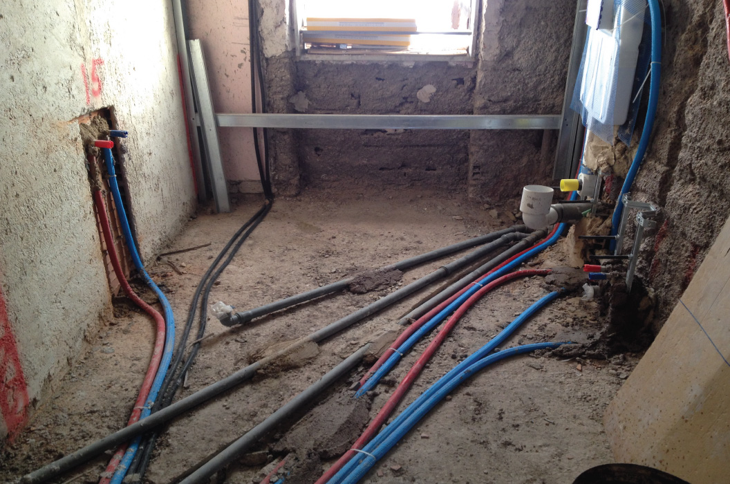 Rifacimento impianto idraulico roma carico e scarico 250 00 cad - Impianto idraulico bagno ...