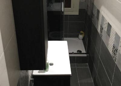 rifacimento bagno di servizio prenestina roma
