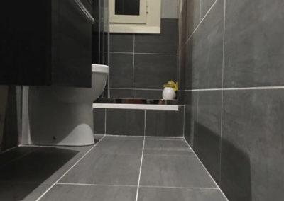 Rifacimento bagno di servizio prenestina roma - Prezzi rifacimento bagno ...