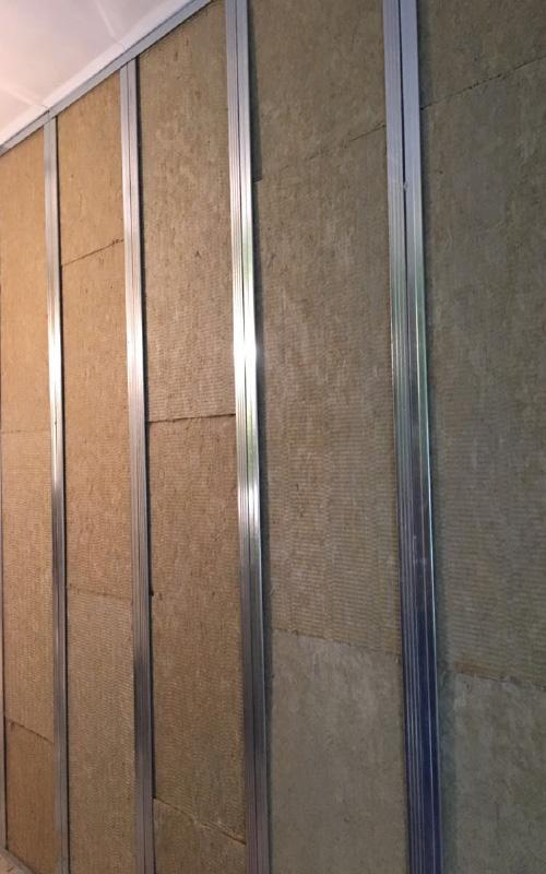 Isolamento termico acustico pareti interne