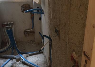 rifacimento impianti idrico con multistrato