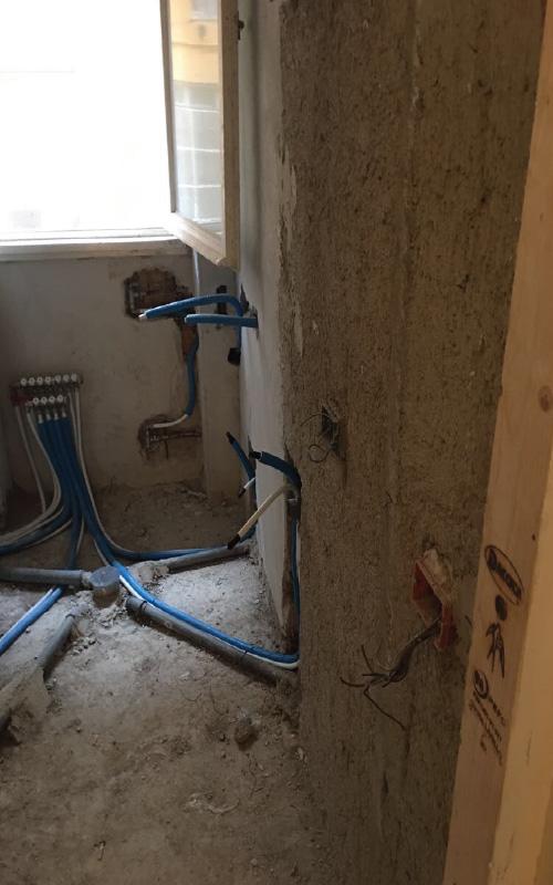 Impianto Idraulico Bagno Multistrato.Impianto Idrico Bagno Prenestina Roma