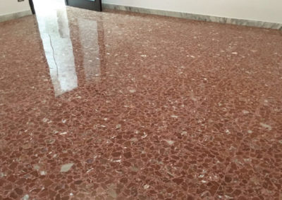 arrotatura pavimenti marmo