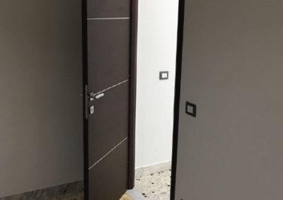 fornitura e posa porte interne