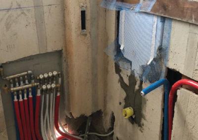 rifacimento impianti bagno roma