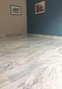 arrotatura marmo cantiere tuscolana, roma