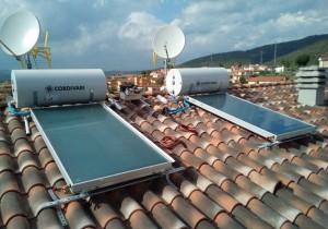 impianto fotovoltaico per acqua calda e riscaldamento