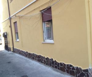 ristrutturazione facciata palazzina roma